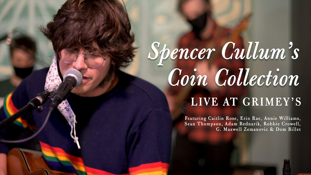 Spencer Cullum's Coin Collection -- Live at Grimey's